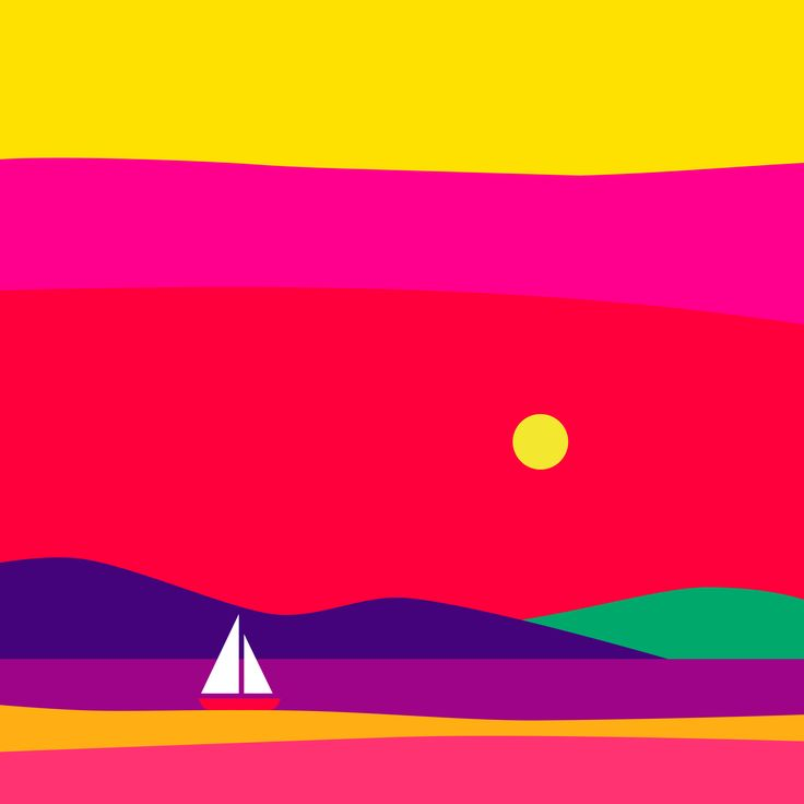 Colorful landscape