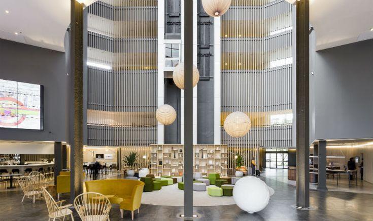 O escritório franco-brasileiro Triptyque assina a reforma do luxuoso Pullman São Paulo Guarulhos Airport