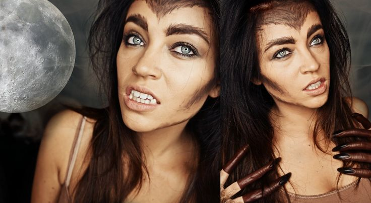 Werewolf Makeup tutorial from SMLx0