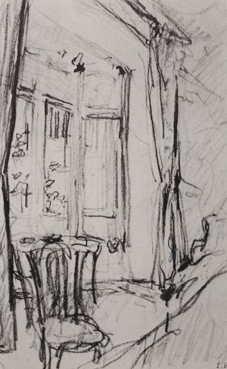 Edouard Vuillard, unknown on ArtStack #edouard-vuillard #art