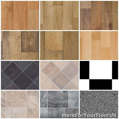 Non Slip Vinyl Flooring Kitchen, Bathroom CHEAP Lino 3m  | eBay