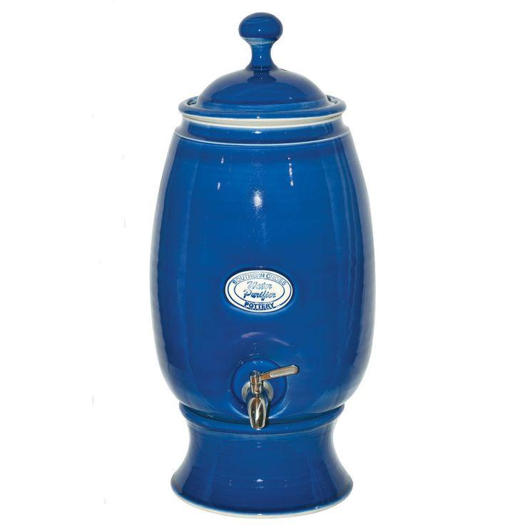 $269 I NEW Southern Cross Ceramic Water Filter Cobalt Blue