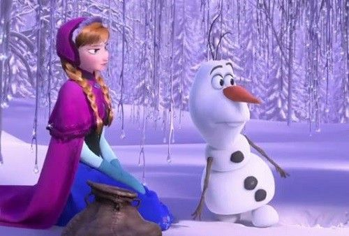 Frozen clip olaf the snowman loves heat wait what - Frozen anna and olaf ...