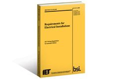 BS 7671 (the IET Wiring Regulations) sets the standards for electrical installation in the UK and many other countries. The IET co-publishes the Regulations with the British Standards Institution (BSI) and is the authority on electrical installation.
