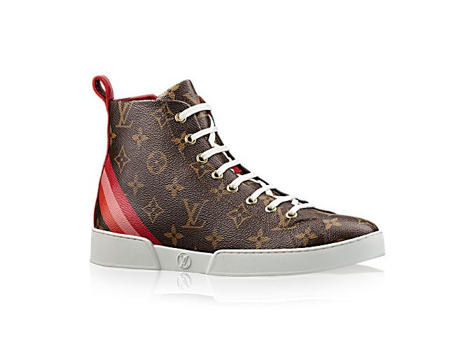 Louis Vuitton, Stellar Sneaker Boot, sneakers, louis Vuitton shoes.
