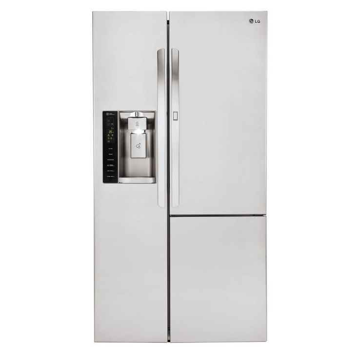 LG Electronics 26.1 cu. ft. Side-by-Side Refrigerator with Door-in-Door in Stainless Steel (Silver)