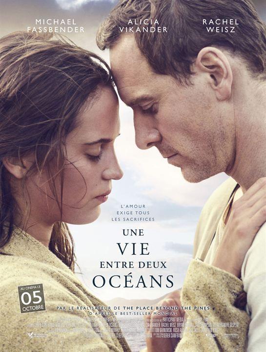 """♥♥♥ """"Une vie entre deux océans"""", une dromance de Derek Cianfrance avec Michael Fassbender, Alicia Vikander, Rachel Weisz... (10/2016)"""