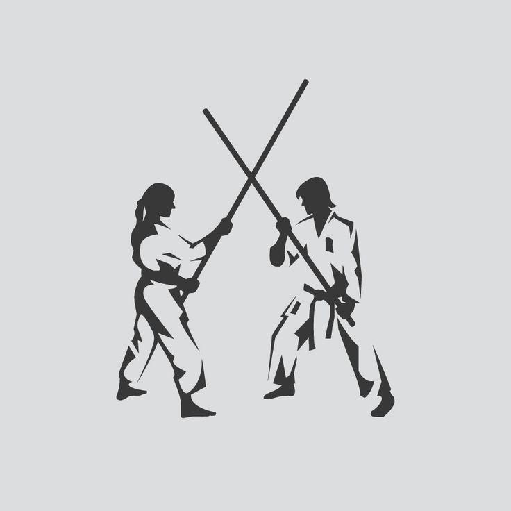 Logo Design. Fighting Spirit. Tokon. Designed by White is Black.