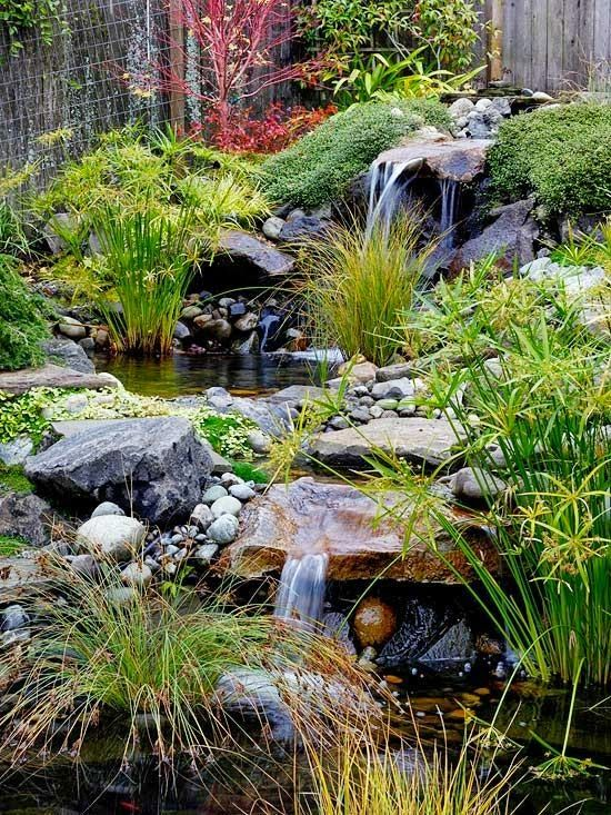 17 mejores im genes sobre espacio verde en pinterest for Cascadas para jardines pequenos
