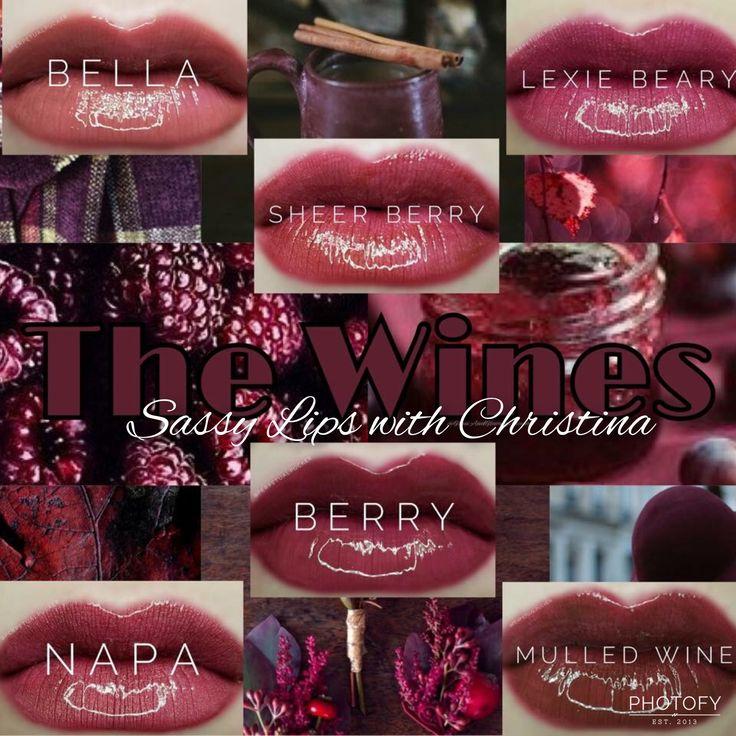 Lipsense Wine Colors Distributor 355960 In 2019  Lipsense -4735