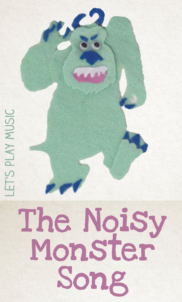 The Noisy Monster Song for Halloween and Monster fans!be sure to play the song at the end on the little movie---MP