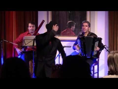 Gonçalo Pescada e Amigos no Club.... Acordeão, Fagote e Baile... Piazzolla