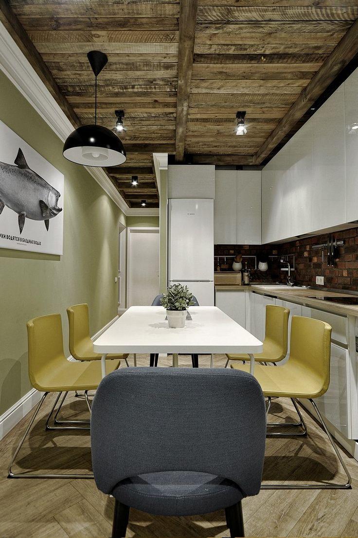 Stunning Lastfloor Kitchen by Saranin Artemy u Allartsdesign