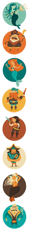 Pirates&Mermaids - Raquel Jove