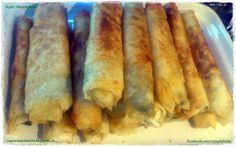 Inga's Rezeptekiste: Sigara Börek mit Spinat, Schafskäse und frischen Kräutern