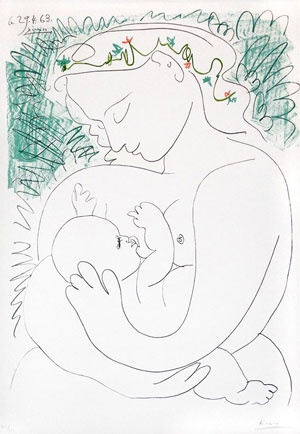 Picasso, Mother and Child, 1963