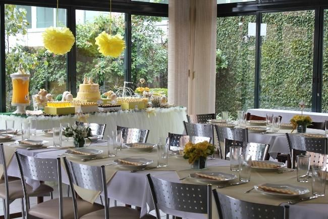How can you create an atmosphere of joy at your next event?  View the precious decor and dessert details of this sweet sheep boy's christening party for inspiration.