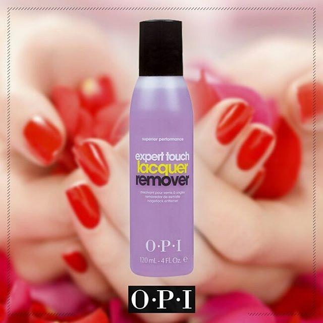 """Desmaquilla tus uñas con facilidad utilizando el """"Expert Touch Lacquer Remover"""", un quita-esmaltes que elimina hasta el color más oscuro de tus uñas. #OPI #OPIPanamá #Color #Nails #Beauty #Color #Shine #ExpertTouchLacquerRemover"""