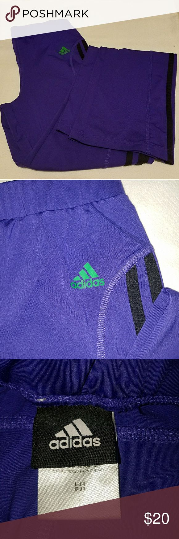 Adidas workout pants Girls 14 or ladies xs purple workout pants, by Adidas. Full length, straight leg. EUC. Smoke free/pet free home. All offers always welcome. adidas Bottoms Sweatpants & Joggers
