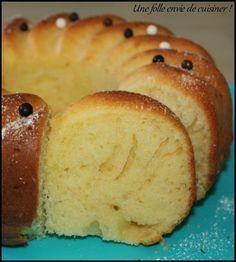 Gâteau léger aux petits suisses -