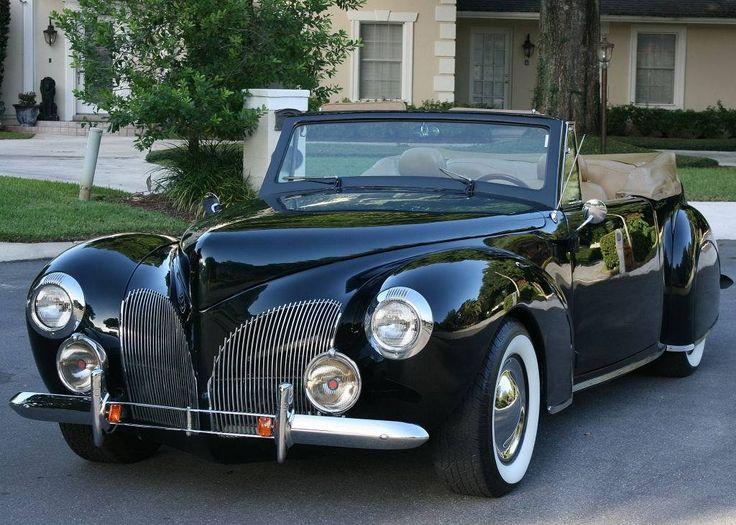 1940 lincoln continental cabriolet restomod dream cars. Black Bedroom Furniture Sets. Home Design Ideas