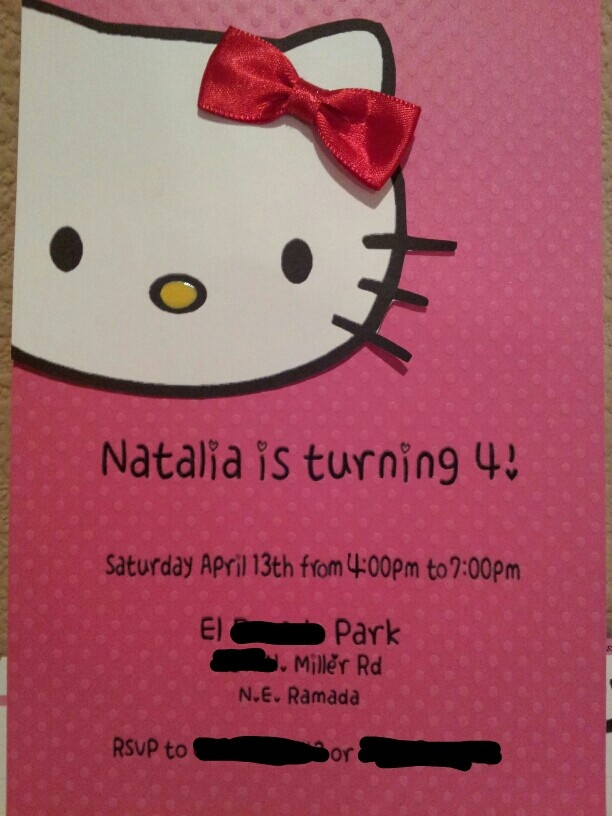 hello kitty diy invitations Kaysmakehaukco
