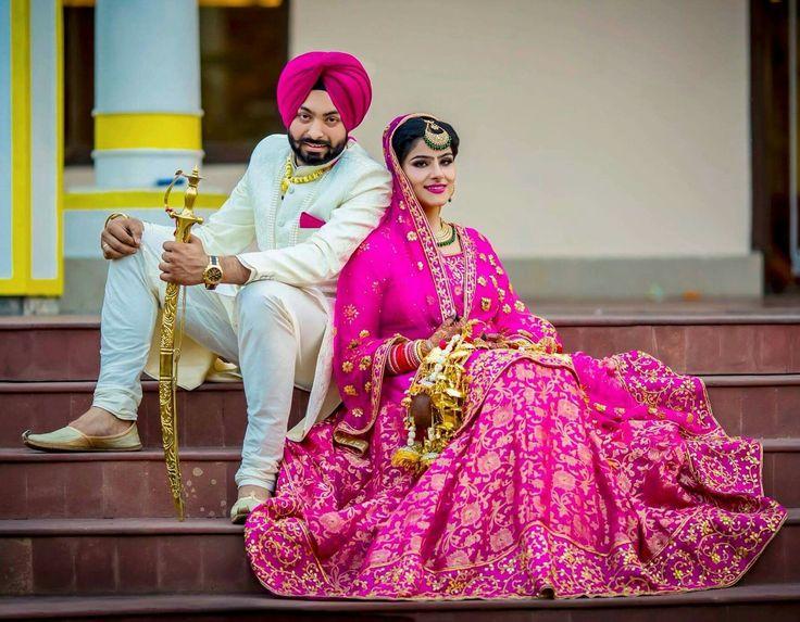 Beautiful brides. Wedding photography #lovelifetime #forever Follow Pinterest : @reetk516  ThatAlluringKaur