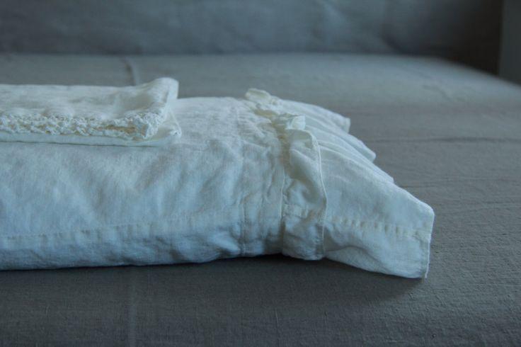 Постельное белье наволочка с оборками стандартный короля от mooshop