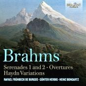John J. Puccio at Classical Candor reviews Brahms: Serenades Nos. 1 & 2, with Heinz Bongartz and the Dresden Philharmonic on a Brilliant Classics 2-disc set.