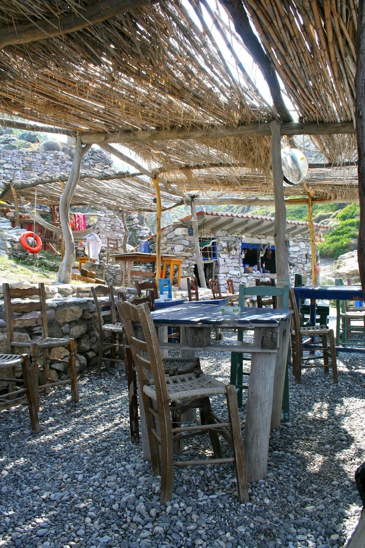 Skiathos. NFW, I can hear the crunch of the pebbles under your feet...the feel of taverna chairs...ha!