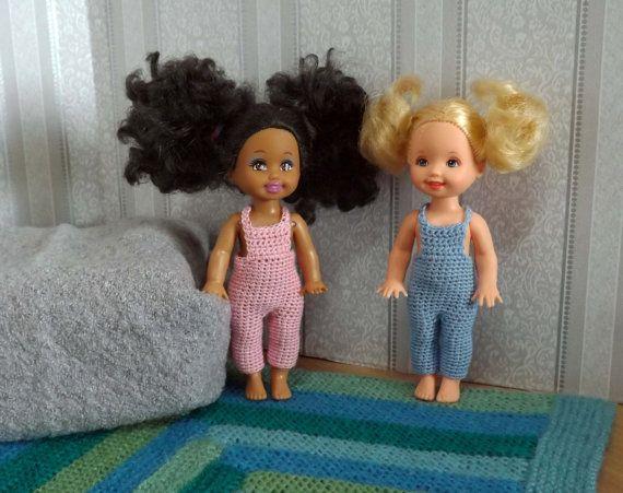 Вязанная одежда для кукол Келли и им подобных от ShabbyDollhouses