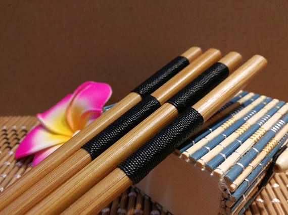 Japanese Rope Chopsticks Set of 2 Pairs