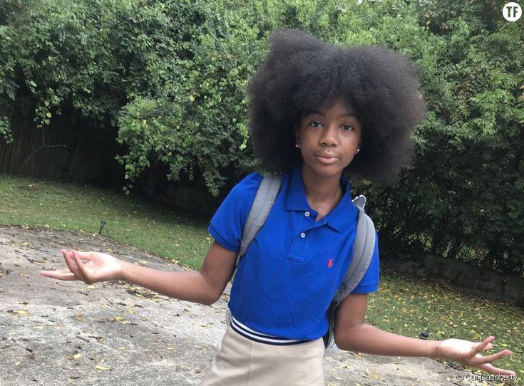 Ses camarades se moquent de ses cheveux afro : elle répond par une superbe vidéo