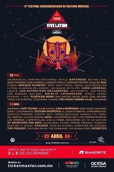 Festival Vive Latino 2016