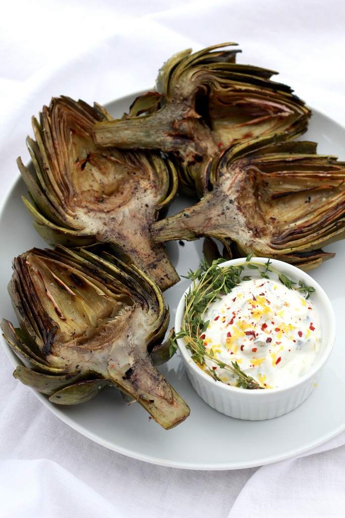 More like this: grilled artichokes , aioli and artichokes .