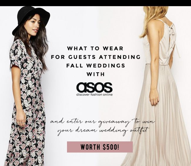 Fun Ideas On What To Wear For Guests Attending Fall Weddings 3