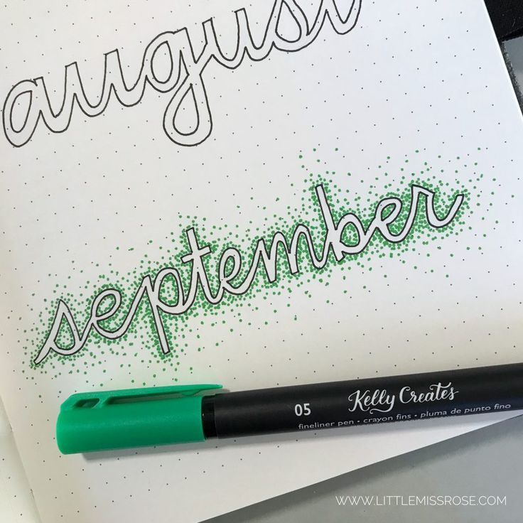 11 Simple Hand-Lettered Fonts For Your Bullet Journal – judi dru