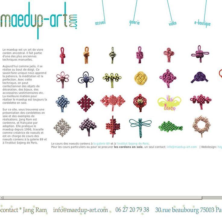 Jang Ram | Le maedup, un art de vivre coréen ancestral | Le cours des noeuds coréens à Paris, Le fournisseur de cordon de soie, La création de bijoux et accessoires de la mode en noeud | Pearltrees