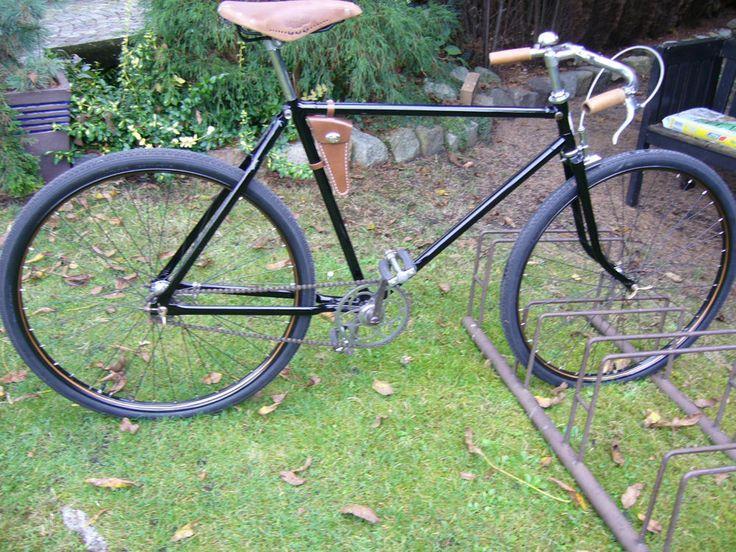 Halbrenner Mifa Monopol Bj.1937 altes Fahrrad, Oldtimer,Retro,Nostalgie
