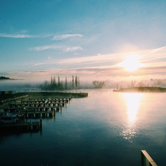 It was a beautiful start to spring at Canberra's Kingston Foreshore! Thanks to Instagrammer 38espresso for sharing this image and tagging #visitcanberra