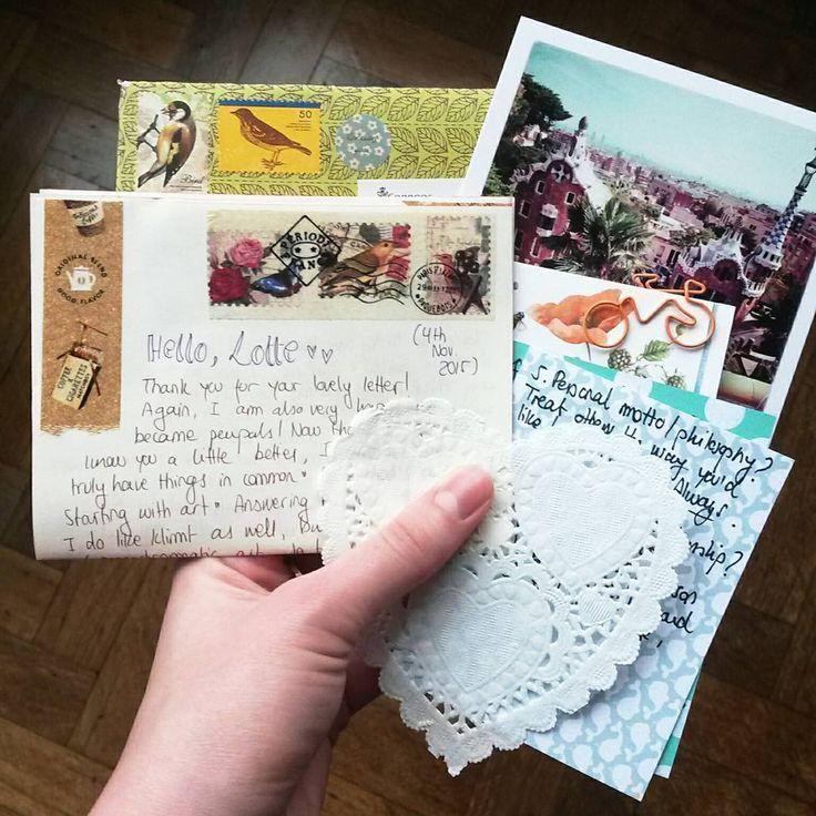 Best Mail Art  Letters Images On   Envelopes