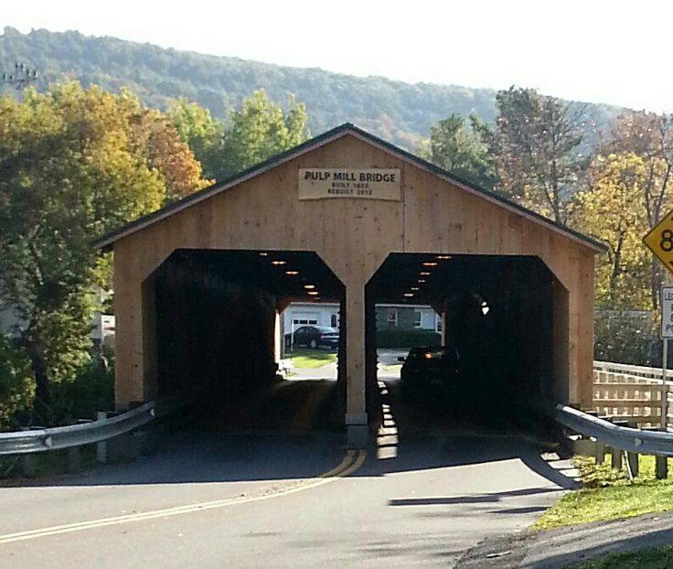 Pulp Mill Covered Bridge (Vt.)