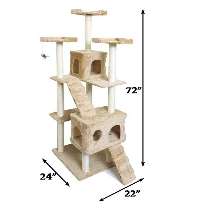 "Mayfair 72"" Cat Tree Tower Sale Price $97"