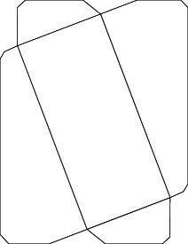 No.10 envelope from letter size paper | A Clockwork Noodle