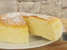 Pastel de queso japonés {tarta de queso y chocolate blanco}   Cocina