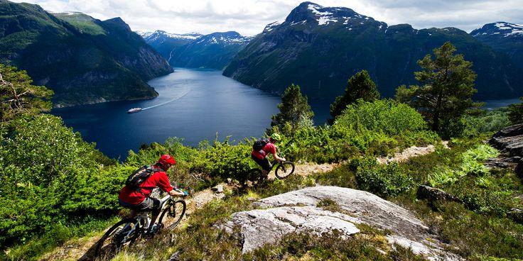 Mountain biking | Hellesylt, Norway