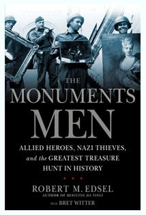The Monuments Men.. this book has been on my To-Read list for so long.  It will be NEXT!