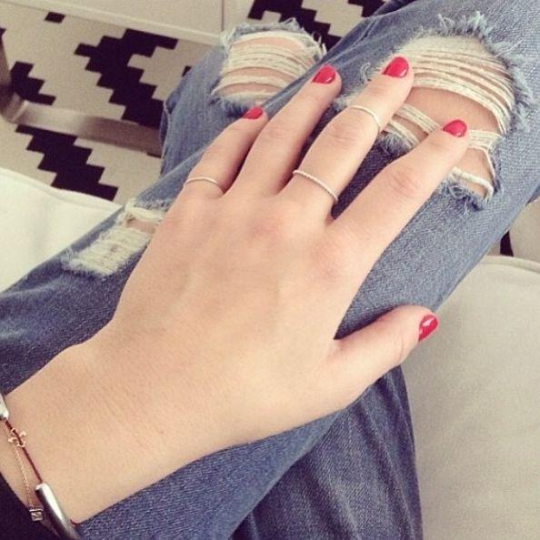 Basic rings by Anna Inspiring Jewellery