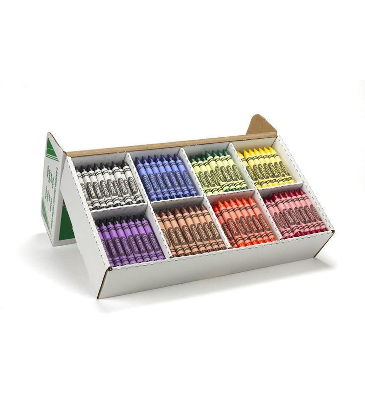 Crayola 400 count Large Size Crayon Classpack