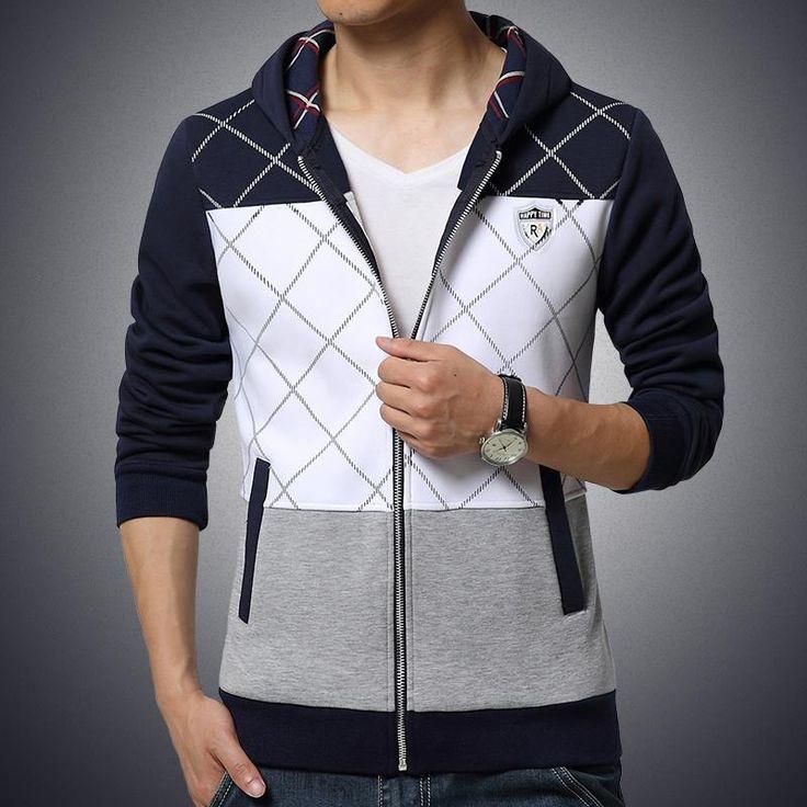 Мужские толстовки и свитера плед спортивный костюм мужчин slim fit мужской толстовки мужчин бренд М 5XL пот homme sudaderas hombre 2016 купить на AliExpress